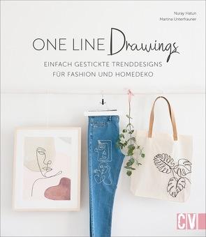 One Line Drawings von Berkau,  Elisabeth, Hatun-Urucu,  Nuray, Unterfrauner,  Martina