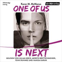 One Of Us Is Next von Brettschneider,  Merete, Galić,  Anja, Greis,  Julian, Karun,  Vanida, McManus,  Karen M., Ruhnke,  Toini