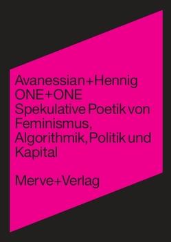 ONE + ONE von Avanessian,  Armen, Hennig,  Anke