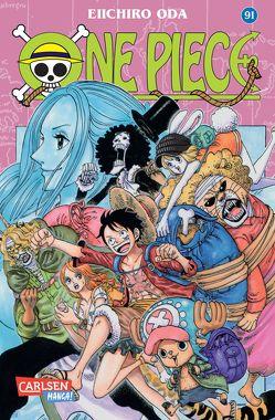 One Piece 91 von Bockel,  Antje, Oda,  Eiichiro