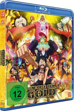 One Piece Movie 12: Gold – Blu-ray von Miyamoto,  Hiroaki