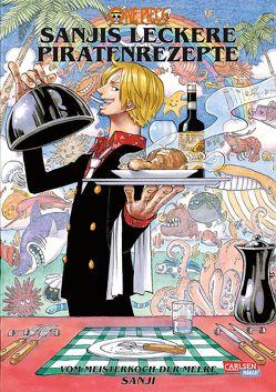 One Piece – Sanjis leckere Piratenrezepte von Bockel,  Antje, Oda,  Eiichiro