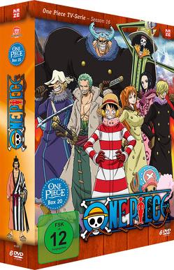 One Piece – TV-Serie – Box 20 (Episoden 602-628) von Miyamoto,  Hiroaki, Sakai,  Munehisa, Shimizu,  Junji, Uda,  Kônosuke
