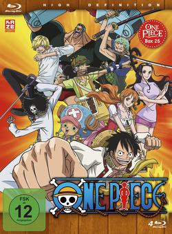 One Piece – TV-Serie – Box 26 (Episoden 780-804) [4 Blu-rays] von Miyamoto,  Hiroaki, Sakai,  Munehisa, Shimizu,  Junji, Uda,  Kônosuke