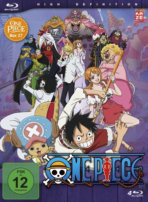 One Piece – TV-Serie – Box 27 (Episoden 805-828) [4 Blu-rays] von Miyamoto,  Junji Shimizu,  Kônosuke Uda,  Munehisa Sakai,  Hiroaki