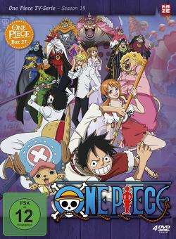 One Piece – TV-Serie – Box 27 (Episoden 805-828) [4 DVDs] von Miyamoto,  Junji Shimizu,  Kônosuke Uda,  Munehisa Sakai,  Hiroaki