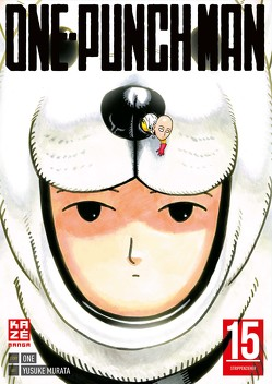 ONE-PUNCH MAN 15 von Murata,  Yusuke, ONE, Schmitt-Weigand,  John