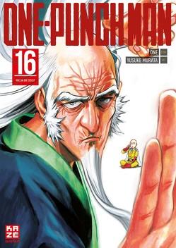 ONE-PUNCH MAN 16 von Murata,  Yusuke, ONE, Schmitt-Weigand,  John