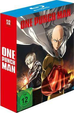 One Punch Man – Blu-ray 1 + Sammelschuber (Episoden 1-4 und OVA 1+2) von Natsume,  Shingo