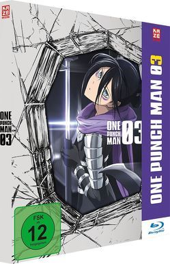 One Punch Man – Blu-ray 3 (Episoden 9-12 und OVA 5+6) von Natsume,  Shingo