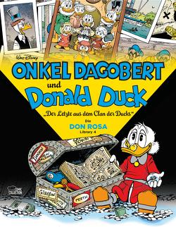 Onkel Dagobert und Donald Duck – Don Rosa Library 04 von Rohleder,  Jano, Rosa,  Don