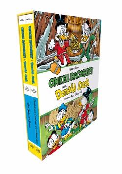 Onkel Dagobert und Donald Duck – Don Rosa Library Schuber 1 von Rosa,  Don