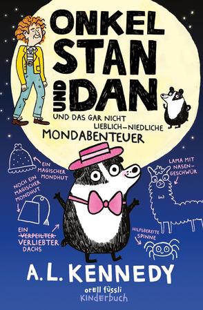 Onkel Stan und Dan und das gar nicht lieblich-niedliche Mondabenteuer von Correll,  Gemma, Herzke,  Ingo, Kennedy,  A.L.