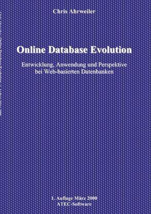 Online Database Evolution von Ahrweiler,  Chris