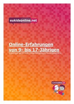 Online-Erfahrungen von 9- bis 17-Jährigen. von Hasebrink,  Uwe, Lampert,  Claudia, Thiel,  Kira