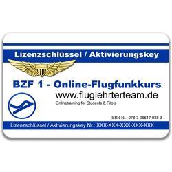 Online Flugfunkkurs BZF I (DE+EN) Lizenz-Aktivierungskey von Mueller,  Thomas