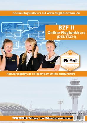 Online Flugfunkkurs BZF II (DE) Lizenz-Aktivierungskey von Mueller,  Thomas