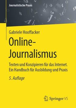 Online-Journalismus von Hooffacker,  Gabriele