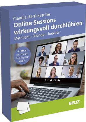Online-Sessions wirkungsvoll durchführen von Härtl-Kasulke,  Claudia, Lemke,  Sabine