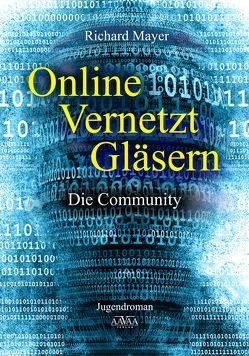 Online. Vernetzt. Gläsern. – Großdruck von Mayer,  Richard