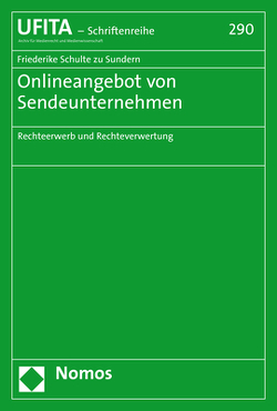Onlineangebot von Sendeunternehmen von Schulte zu Sundern,  Friederike