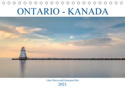 Ontario Kanada, Lake Huron und Georgian Bay (Tischkalender 2021 DIN A5 quer) von Kruse,  Joana