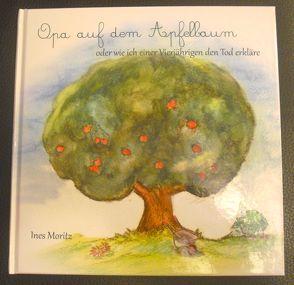 Opa auf dem Apfelbaum von Moritz,  Ines