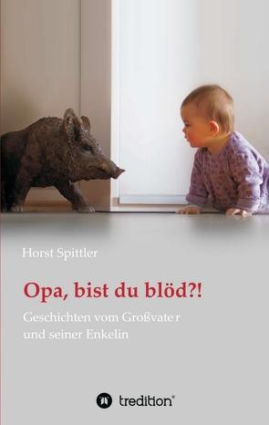 Opa, bist du blöd?! von Spittler,  Horst