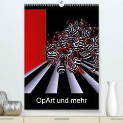 OpArt und mehr (Premium, hochwertiger DIN A2 Wandkalender 2020, Kunstdruck in Hochglanz) von IssaBild
