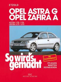 Opel Astra G 3/98 bis 2/04 von Etzold,  Rüdiger