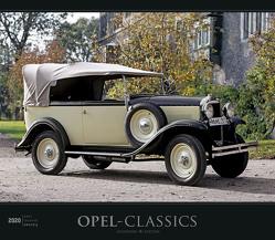 Opel-Classics 2020 – Oldtimer – Bildkalender (33,5 x 29) – Autokalender – Technikkalender – Fahrzeuge – Wandkalender von ALPHA EDITION, Lintelmann,  Reinhard