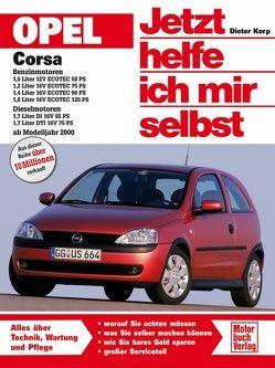 Opel Corsa C Benzin-und Dieselmotoren ab Modelljahr 2000 von Korp,  Dieter