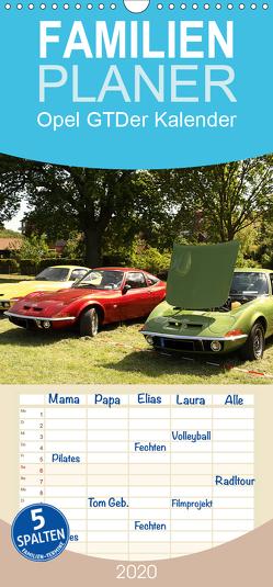 Opel GT Der Kalender – Familienplaner hoch (Wandkalender 2020 , 21 cm x 45 cm, hoch) von Bagunk,  Anja