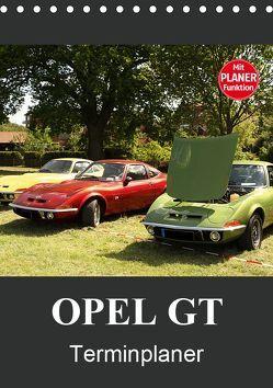 Opel GT Terminplaner (Tischkalender 2019 DIN A5 hoch) von Bagunk,  Anja