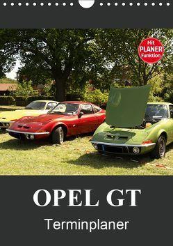 Opel GT Terminplaner (Wandkalender 2019 DIN A4 hoch) von Bagunk,  Anja
