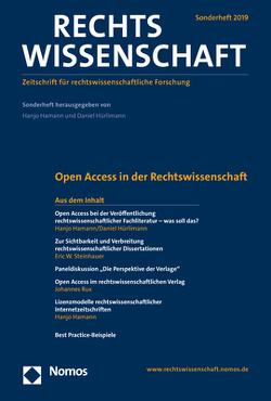 Open Access in der Rechtswissenschaft von Hamann,  Hanjo, Hürlimann,  Daniel