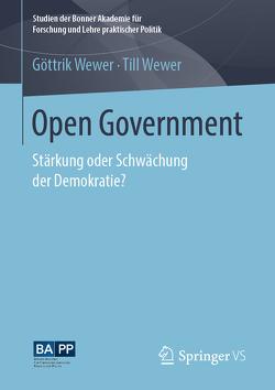 Open Government von Wewer,  Göttrik, Wewer,  Till