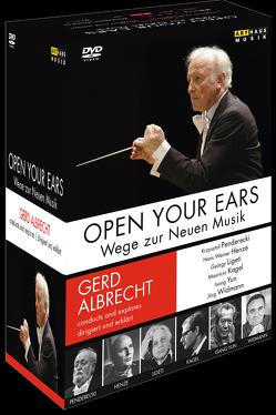 Open Your Ears von Albrecht,  Gerd
