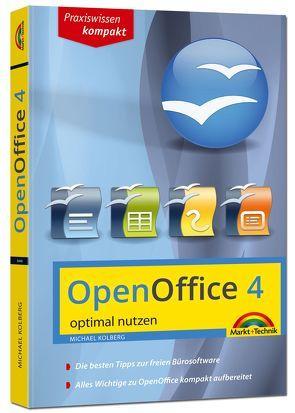 OpenOffice 4.1.1 – aktuellste Version – optimal nutzen von Kolberg,  Michael