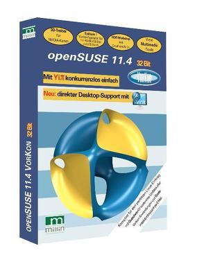 openSUSE 11.4 32 Bit von Millin,  Nicolaus