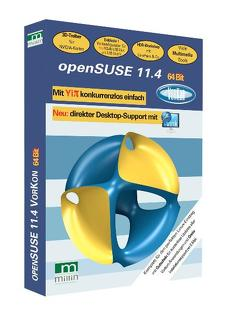 openSUSE 11.4 64 Bit von Millin,  Nicolaus