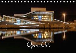 Opera Oslo (Tischkalender 2018 DIN A5 quer) von Rosin,  Dirk