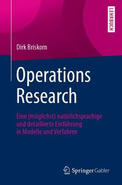 Operations Research von Briskorn,  Dirk