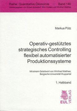 Operativ-gestütztes strategisches Controlling flexibel automatisierter Produktionssysteme von Matthes,  Winfried, Pütz,  Markus