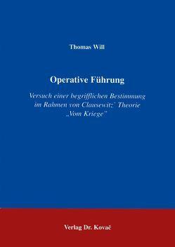 Operative Führung von Will,  Thomas