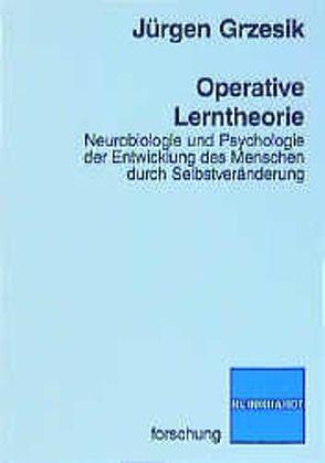 Operative Lerntheorie von Grzesik,  Jürgen