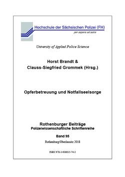 Opferbetreuung und Notfallseelsorge von Brandt,  Horst, Grommek,  Clauss-Siegfried