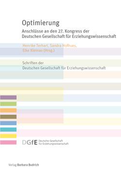 Optimierung von Hofhues,  Sandra, Kleinau,  Elke, Terhart,  Henrike