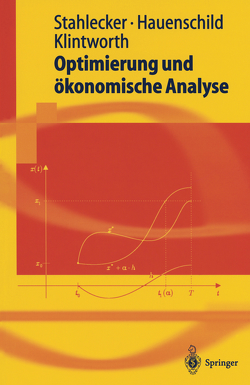 Optimierung und ökonomische Analyse von Hauenschild,  Nils, Klintworth,  Markus, Stahlecker,  Peter