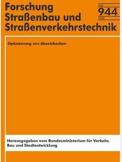 Optimierung von Absetzbecken von Grotehusmann,  D., Kasting,  U.